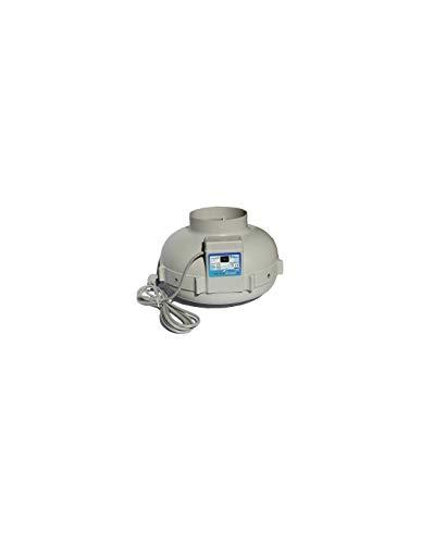 Prima Klima - Extractor de 2 velocidades, 390 y 760 m3/h, 150 mm de diámetro
