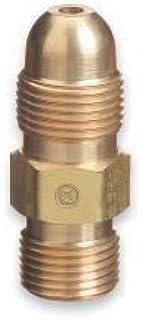 Western Enterprises Brass Cylinder Adaptors, From Cga-510 Pol Acetylene To Cga-300 Coml Acet 1 Piece - 1 Piece
