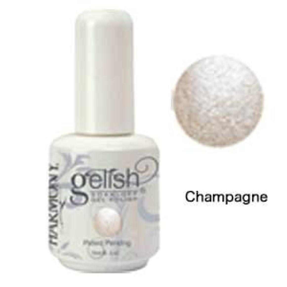 容赦ないしてはいけない惑星Harmony gelishソークオフジェル-Champagne 15ml [海外直送品][並行輸入品]