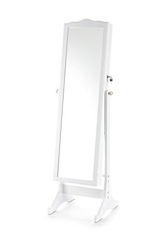Wink design - Concord - Miroir sur pied - blanc opaque