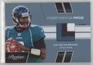 David Garrard #/50 (Football Card) 2011 Panini Prestige - Prestigious Pros - Platinum Patches [Memorabilia] #15
