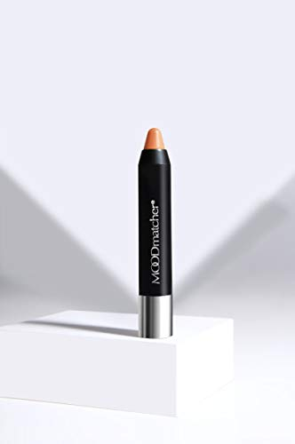 Fran Wilson MOODmatcher Twist Stick Original Color-Change Lipstick, ORANGE-12 HOUR Long Wear, Waterproof, Ultra Hydrating with Aloe & Vitamin E, Smudgeproof & Kissproof 0.10 Oz (2.9g)
