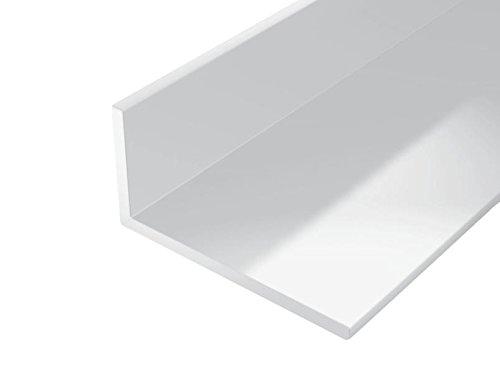 GAH-Alberts 479268 Winkelprofil-Kunststoff, weiß, 1000 x 30 x 20 mm