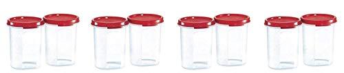 Tupperware Plastic Container Set, 440ml, Set of 8, White
