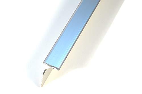 ABSCHLUSSLEISTE Eckleiste Winkelleisten Verbindung Chrome Farbe Leiste 38mm