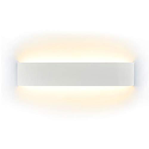 Wandlampe LED 16W, Wandleuchte Modern Wandlampen Innen Wandleuchten Inkl. LED-Platine 110V-260V, für Badlampe Wohnzimmer Schlafzimmer Treppenhaus Flur Wandbeleuchtung, Warmweiß, 3000K