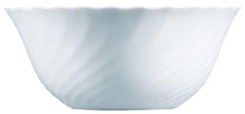 Luminarc 54435 Trianon - Ensaladera (18 cm), Color Blanco