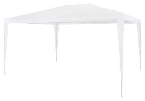ZHENG Gazebo Canopy Marquee Tent Outdoor Garden Gazebo Marquee Canopy Shelter Shade 3x4m White