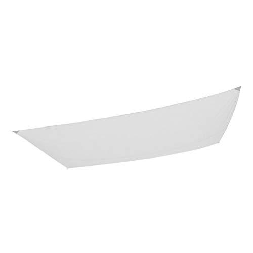 Aktive Garden 53916 - Toldo Vela para Exterior Blanco 200 x 300 cm