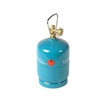 VITKOVICE MILMET S.A 1kg Leere befüllbare Gasflasche Propan Butan Grill Camping Gaskocher