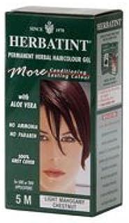 Herbatint Herbal Hair color Permanent Gel #5M Light Mahogany Chestnut - 1 Ea, Pack of 2 by Herbatint