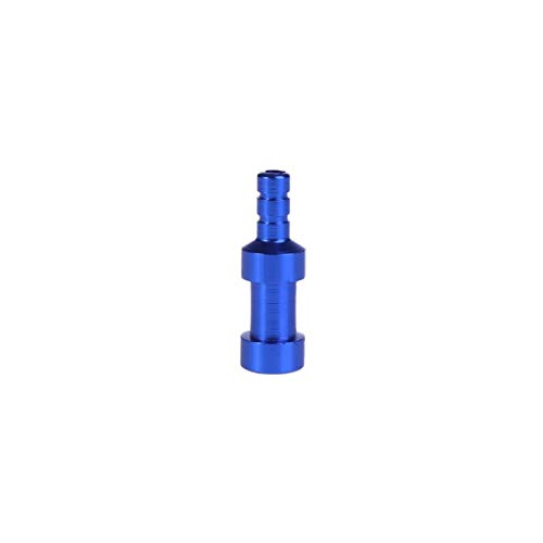Adaptador De Válvula De Bicicleta Adaptador de válvula de Bicicleta Compatible con Presta a Compatible con Accesorios de aleación de Aluminio de Bomba de válvula Schrader Válvulas (Color : Sky Blue)