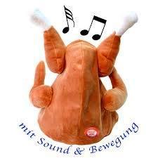 BavaRoi Der einzigartige singende tanzende Hendl Hut aka Chicken hat !!! Der perfekte Spass für das Oktoberfest oder auch Fasching, Karneval und natürlich Thanks Giving.