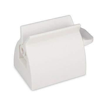 EgBert Bx-924 Anya Abs Kreative Badezimmer Zahnpasta Tube Squeezer Multifunktions-Tube Dispenser- Weiß