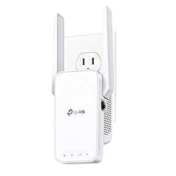 TP-Link AC750 WiFi Extender RE215  Covers Up to 1500 Sq.ft and 20 Devices Dual Band Wireless Repeater for Home Internet Signal Booster with Ethernet Port