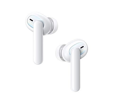 OPPO Enco W51 – Auriculares inalámbricos con cancelación de ruido, bluetooth 5.0, resistencia al agua IP55 – Color Blanco