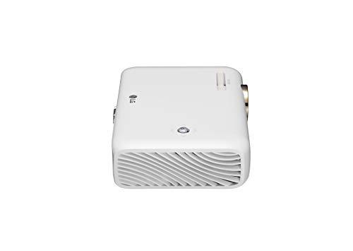 LG Minibeam PH550G Portable Wireless LED Projector, HD (1280 x 720) - White -