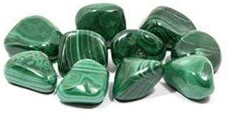 CrystalAge Malachite Tumble Stone (20-25mm) - Single Stone