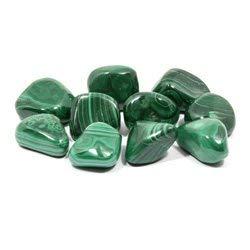 Malachite Tumble Stone (20-25mm) - Single Stone