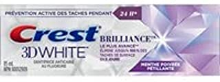 Crest 3D White Brilliance Peppermint Toothpaste 3 Pack of 85 ml