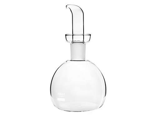 HOME Ampolla Redondo, Borosilicato, 0,5 L, Transparente
