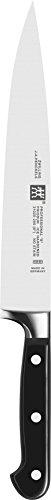 Zwilling 31020-263 Professional S Schinkenmesser, Rostfreier Spezialstahl, Zwilling Sonderschmelze, genietet, Vollerl, Kunststoff-Schalen, 260 mm, schwarz