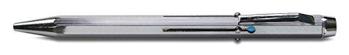 Schneider Schreibgeräte 4-Kugelschreiber, M, schwarz, rot, blau, grün, Farbe des Schaftes: silber