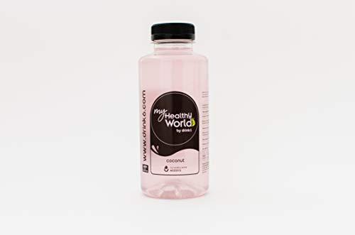 DRINK6 - Power Waters, Agua Energética de Coco, Bebida con Base de Agua y Extractos Naturales de Coco, Potente Efecto Hidratante, Ideal como Bebida tras la Práctica Deportiva