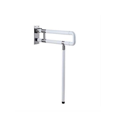Weq Barrier-vrije vloer leuning badkamer veiligheid leuning toilet toilet toilet handvat ouderlijk T-vormige hek (kleur: 60CM)