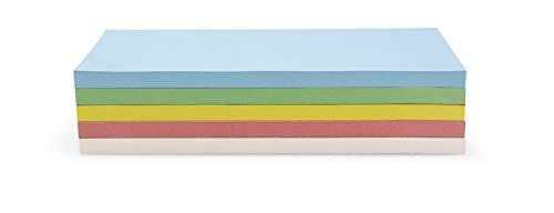 Moderationskarten, selbstklebend, 250 Stück, 5 Farben