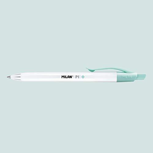 Caja expositora 25 bolígrafos P1 tinta azul, edición +