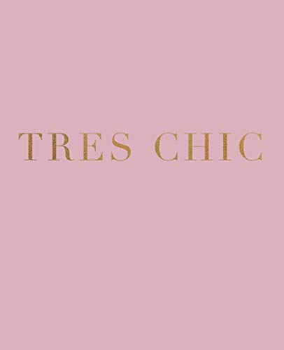 Tres Chic: A decorative book for interior design styling | Ideal for...