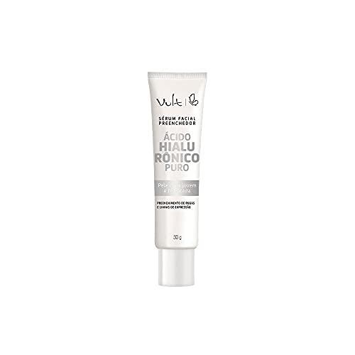 Sérum facial preenchedor com ácido hialurônico puro 30g, Vult