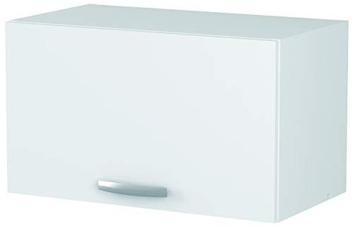 Links 13Casa Adria A3Hängeschrank, Maße: 60cm, 1Tür. Maße: 60x 28x 35 cm. Material: Melamin. Fabre: weiß.