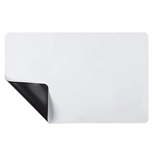 Cobeky Reminder - Pizarra magnética para nevera (tamaño 3 esquinas redondeadas)