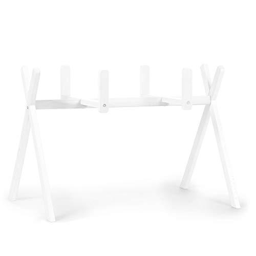 Arche support de couffin en bois blanc - Childhome