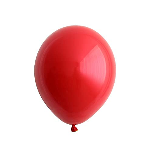 SSCXH 10 20pcs 10Inch Ruby Red Pearl Love Heart Latex Helium Balloons Valentine's Day Wedding Birthday Party Decorations Globos, 10pcs