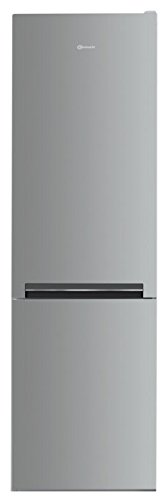 Bauknecht KGLFI 18 A2+ IN Kühl-Gefrier-Kombination / A++ / 189 cm Höhe / 243 kWh/Jahr / 228 L Kühlteil / 111 L Gefrierteil / Pro Touch Edelstahl-Optik / Flüsterleise mit 38 dB