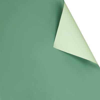 Geschenkpapier, zweifarbig, Blumen-Design, wasserfest, 20 Blatt 9