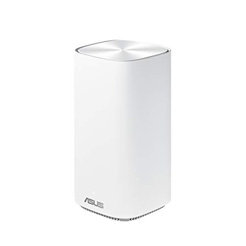 Asus Ai Mesh System ZenWiFi AC Mini CD6 Weiß (1er Pack, AC1500 WiFi 5, 3x Gigabit LAN, App Steuerung, unterbrechungsfreies Roaming, AiProtection)