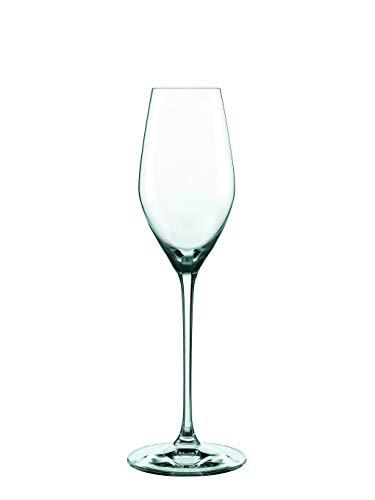 Spiegelau und Nachtmann, 4-teiliges Champagnerkelch-Set XL, Kristallglas, 300 ml, Supreme, 0092084-0