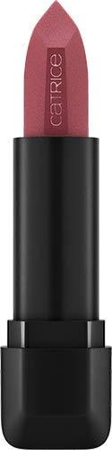 Catrice Demi Matt Lipstick, Lippenstift, Nr. 090 Forbidden Mauve, rot, mattierend, langanhaltend, matt, intensiv, farbintensiv, vegan, ohne Alkohol, ohne Parabene (4g)