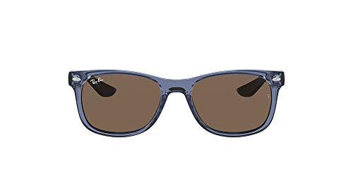 Ray-Ban 0RJ9052S Gafas, Transparent Blue, 48 Unisex