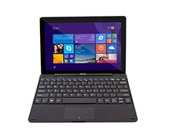 Windows 10 Tablet 10 inch 4/64 GB met keyboard / 64 GB opslag/Met Magnetisch toetsenbord inklapbaar/SD aansluiting extra geheugen/HDMI aansluiting/Tablet en laptop in een