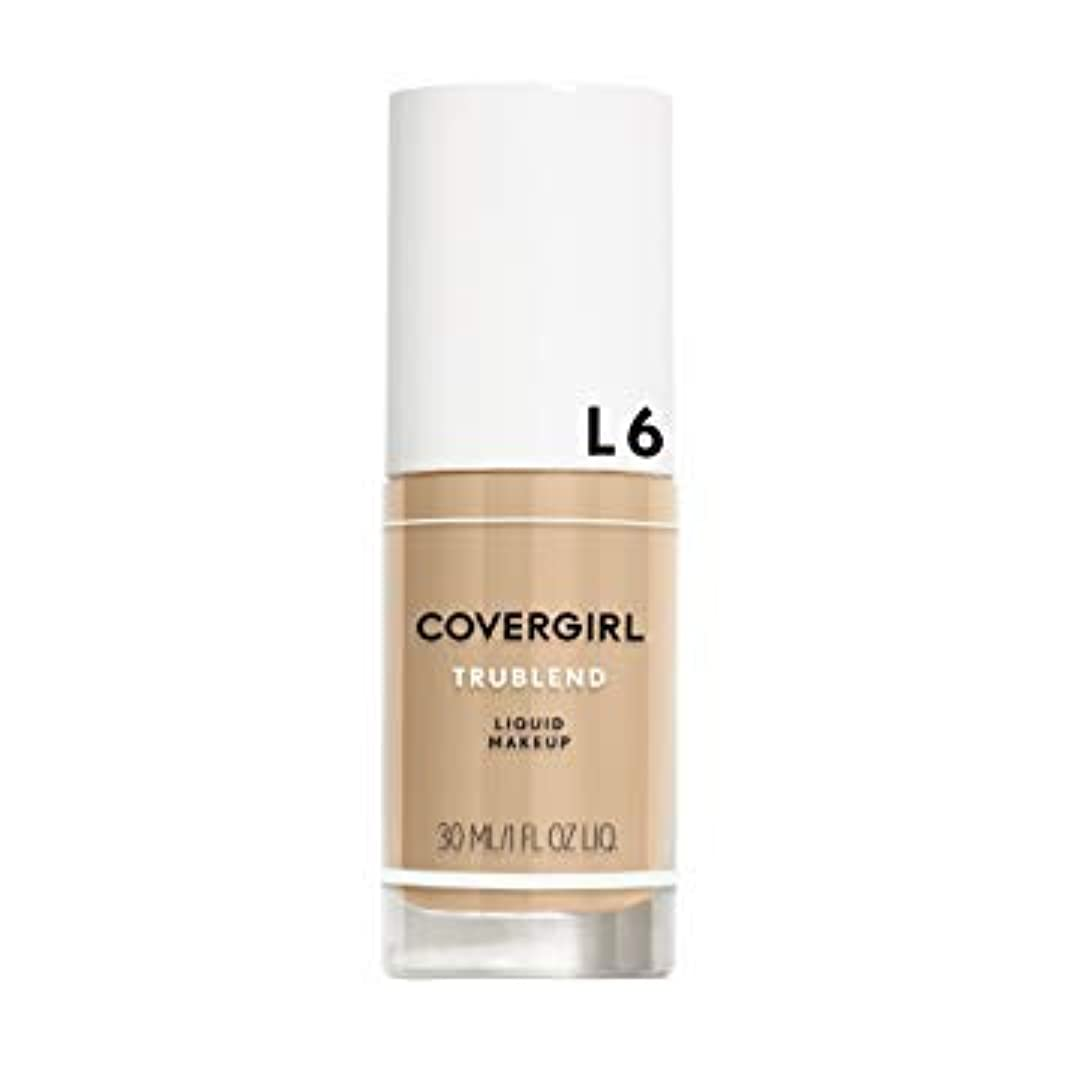 スポーツマン死かどうか(6 Pack) COVERGIRL TruBlend Liquid Makeup - Buff Beige L6 (並行輸入品)