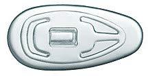 SPORTS WORLD VISION 50 x Brille Nasenpads Silikon Tropfenförmig Einsteckbar/Einschraubbar