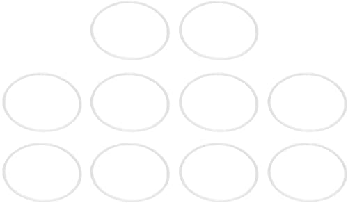 HJTLK 10 Pezzi Acchiappasogni Anello 25 cm Cerchi Rotondi in plastica per Regali Artigianato Acchiappasogni Fai da Te Accessori per Realizzare Decorazioni Natalizie