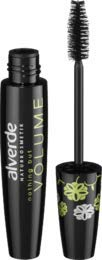 alverde NATURKOSMETIK Wimperntusche Mascara Nothing but Volume schwarz 010, 12 ml