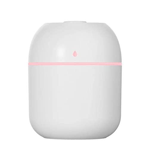 KBSN Mini humidificadores de Niebla fría: humidificadores ultrasónicos con Tanque de Agua de 200 ml, Funcionamiento silencioso, luz Nocturna y Apagado automático