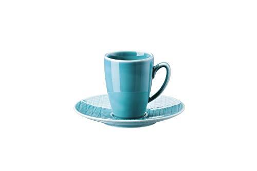 Rosenthal Mesh Aqua Espressotasse 2-TLG. [NPR]